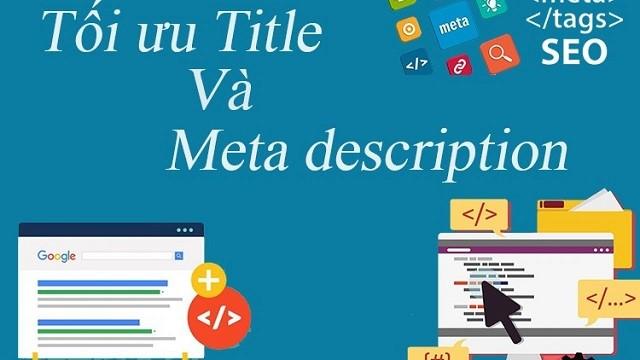 Tối ưu title và Meta Description